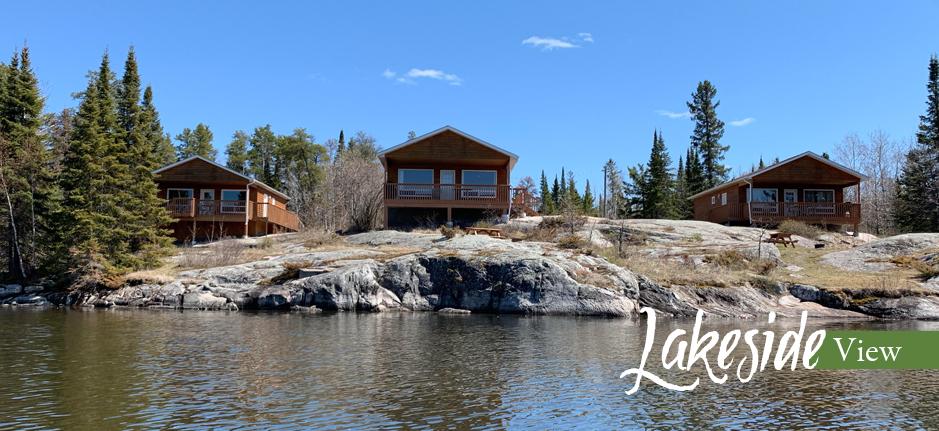 Otter Falls Resort Slide Lakeside View