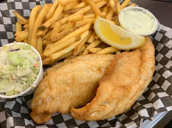 Otter Falls Grill Serves Pickerel